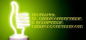 Разработка программы энергосбережения и энергоэффективности